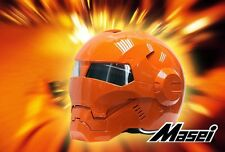 Masei 610 Atomic-Man Orange Bike Motorcycle Roxy NFL Sport Mask County Helmet