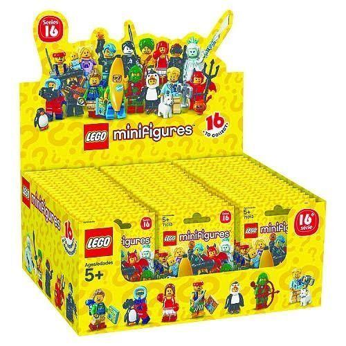 LEGO® 71013 Minifigures - Serie 16 - Display komplett - NEU OVP versiegelt