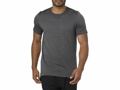 Asics Seamless Ss Top Colour Dark Grey Heather Ref Nd14~