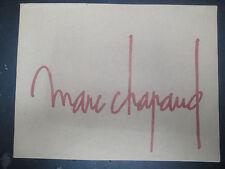 Marc Chapaud - A Travers Paris - 1975