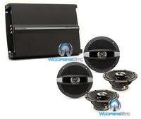 Pkg Focal Auditor (2) R-165c 6.5 Coaxial Speakers + R4280 4-channel Amplifier
