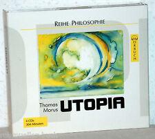 4 CD-Set Thomas Morus - UTOPIA - Sprecher Hans Eckardt