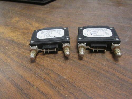 Airpax DC Circuit Breaker LELK1-1REC4-30326-20 20A 80VDC 1P *Lot of 2* Used