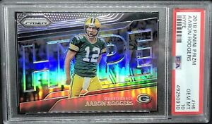 Aaron Rodgers 2018 PRIZM Silver Hype💥 PSA 10 Gem Mint 💎 Packers