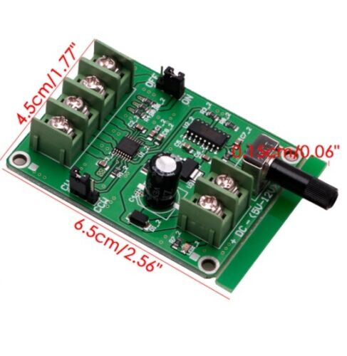 DC 9V-12V Brushless Driver Board Controller For Hard Drive Motor 3//4 Wire CA