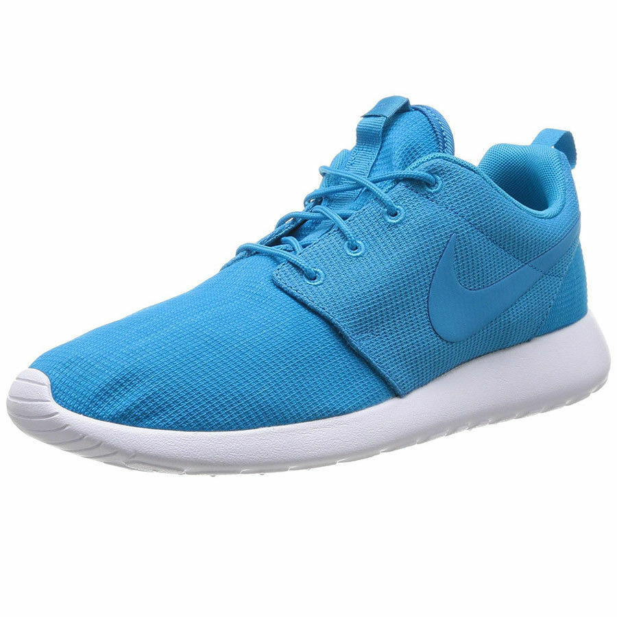 Nike Rosherun  bluee Lagoon  (511881-447) Men's Sizes 8.5-9