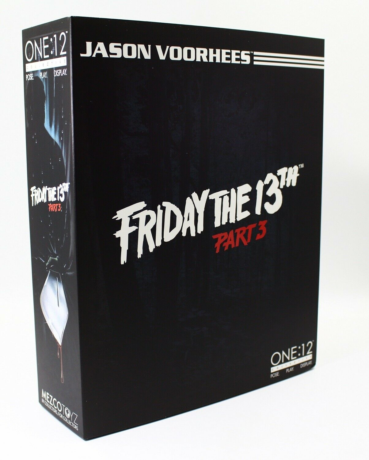 New Mezco Toyz Friday The 13th Part 3 One 12 Collective Jason Voorhees Figure