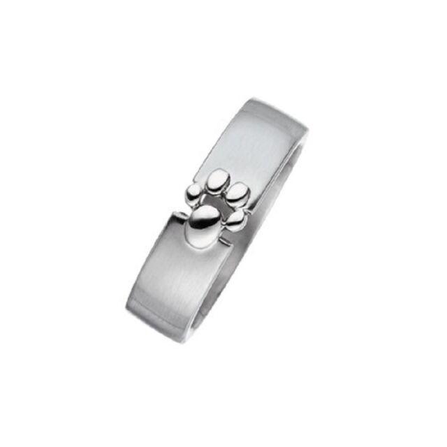 "MAGNETIX - Ring 4365 - Damen - Gr.16-22 ""Pfote"" 6mm - Edelstahl - MAGNETSCHMUCK"