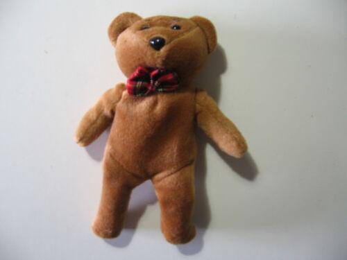 "good condition 7/"" plush bean bag Teddy Bear doll"