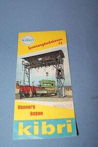 KIBRI-Leaflet-Spoorwegtoebehoren-HO-1962-NL