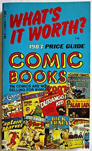 1983 Price Guide To Comic Books Pb Dell