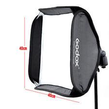 New 40x40cm Godox Softbox Bag Kit for Camera Studio Flash fit Bowens Elinchrom
