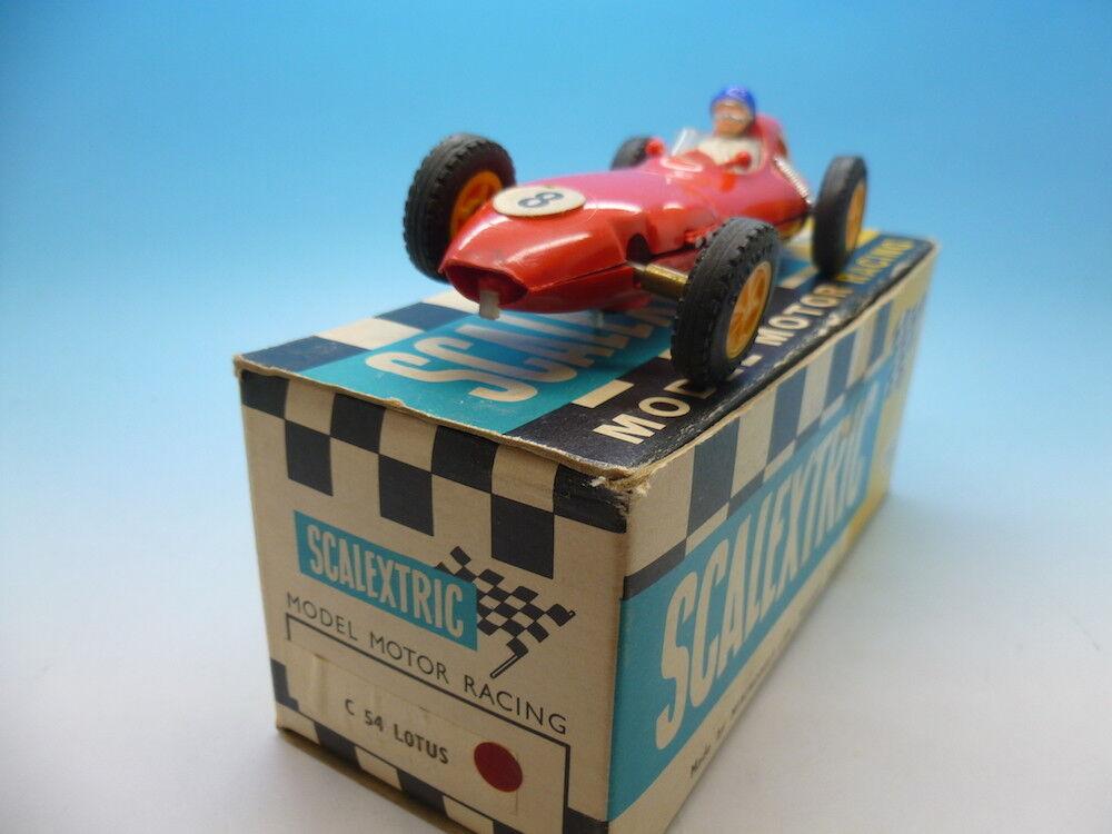 Scalextric C54 massaus i röd, Mint-bil and boxad