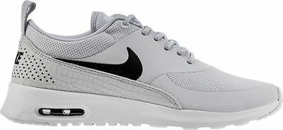 599409 022 Women's Nike Air Max Thea Shoe!!PURE PLATINUM BLACK WHITE !! | eBay