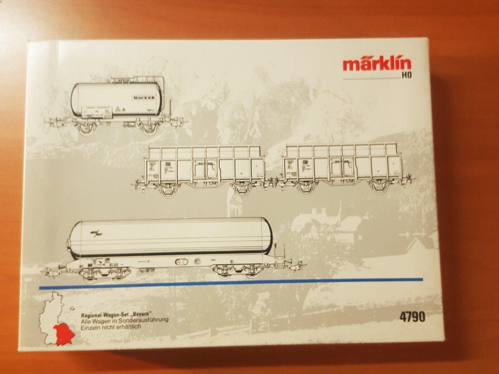 Marklin 4790  Regional Wagenset Bayern