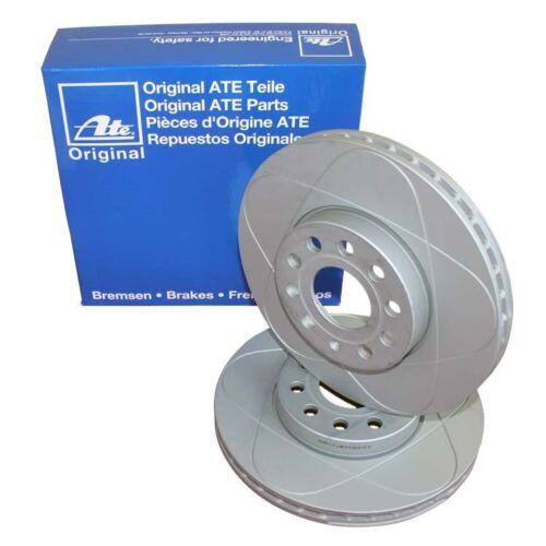 2 ATE Power Disc Bremsscheiben hinten 230mm für Audi Seat Skoda VW
