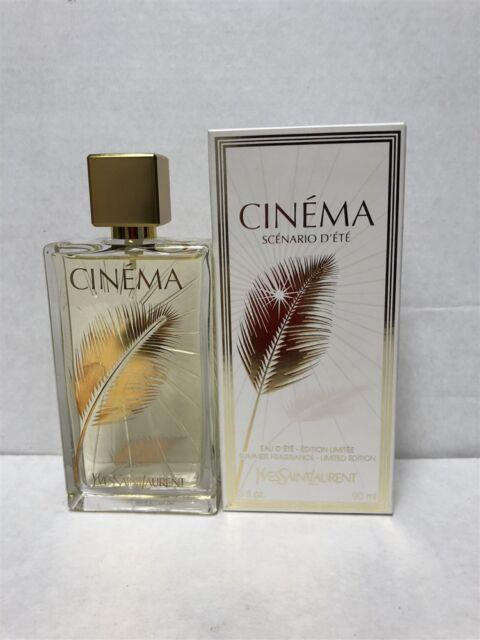 Yves Saint Laurent Ysl Cinema Scenario Dete Edt Perfume Women 3 Oz