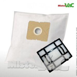 10 Premium Vlies Staubsaugerbeutel Electrolux Z 3482 Ingenio Staubbeutel Filte