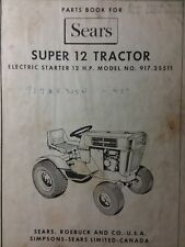 Vintage Sears SS12 Super 12 Suburban Garden Tractor for sale online on sears suburban 12 carburetor, sears garden tractor attachments, sears suburban 12 headlights, sears suburban 12 engine swap, sears suburban 12 parts, sears suburban garden tractor 16 hp, craftsman lt1000 parts diagram, sears suburban 12 tractor,
