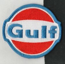 Golfo oli RACING TEAM colori 7cm Panno Sew sul GARA Tuta PATCH PORSCHE 917 gt40