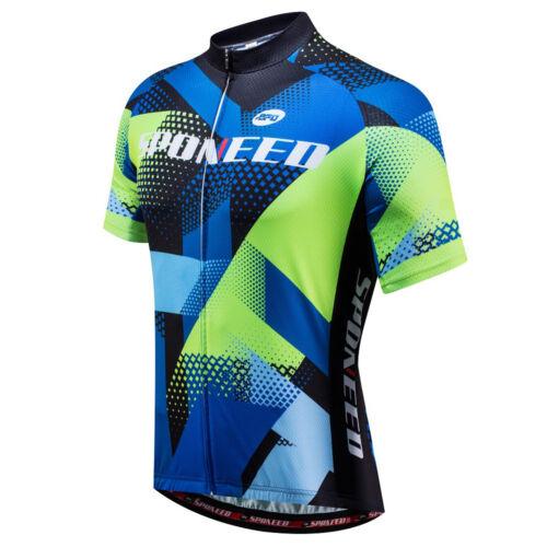Men/'s Cycling Jerseys Quick Dry Short Sleeve MTB Clothing Riding Sport Shirts