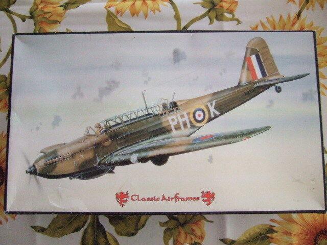 1 48  Fairey Battle  Classic Airframes Kit N°428