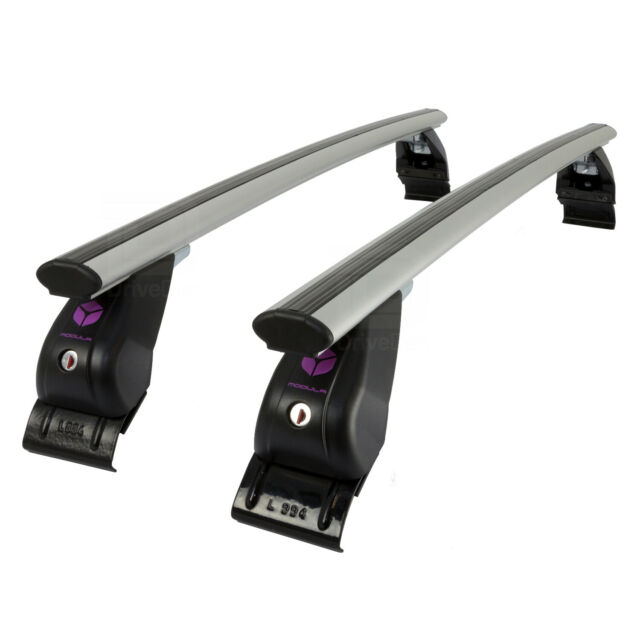 Farad Roof Bars Set fit Audi A4 B6//7 Saloon 01-07 Aluminium Wing Lockable Pair