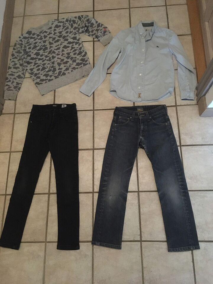 Blandet tøj, Tøj pakke , Grunt