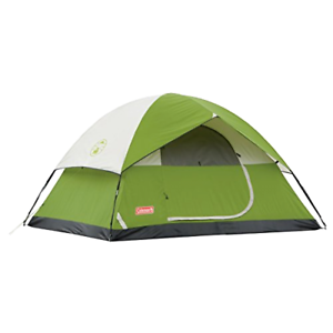 4 Person 9 x 7 Feet Instant Cabin Camping Tent For Family Outdoor Sleeping Dome