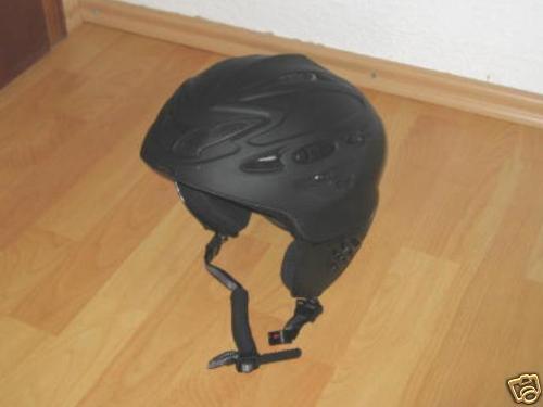 Skihelm von Alpina Scarp in black   Gr. 56 - 61  360g