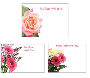 50 care cards mothers day to mum with love floristry greeting image is loading 50 care cards mothers day to mum with m4hsunfo