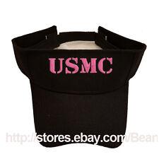 PINK USMC MARINE MOM & GIRLFRIEND SUN VISOR MILITARY LAW ENFORCEMENT