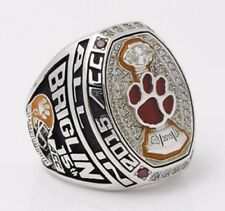 2015 Clemson Tigers ACC National Championship Replica Ring Size 11 MINT