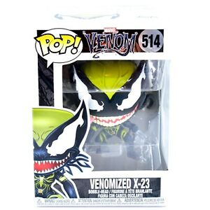 Funko-Pop-Marvel-Venom-Venomized-X-23-514-Bobble-Head-Vinyl-Action-Figure