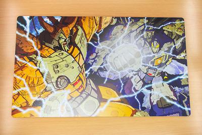 F1510 Free Mat Bag Transformers G1 Custom Playmat Yugioh MTG Pokemon Game Mat