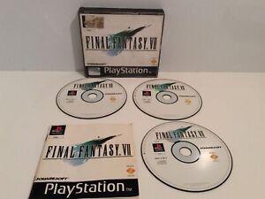 Sony Playstation 1 ps1 Final Fantasy 7