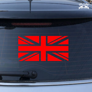 Details About Uk British Flag Union Jack Britain Car Sticker Red Vinyl Decal 2 6 16