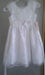 order factory outlets best authentic Details about NWT GIRLS WHITE JONA MICHELLE DRESSY LACE BAPTISM HIGHEND  COMMUNION DRESS SIZE 7