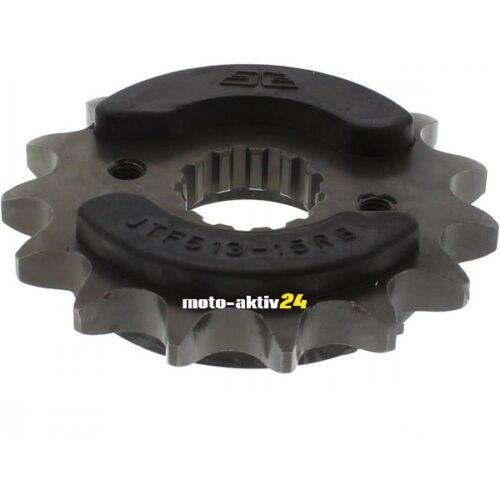 530 Teilung Suzuki GSX-R 1000 2001-2008 Ritzel Gummiert 17 Zähne