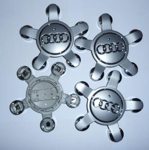 4 audi 8r0601165 llantas originales tapa tapacubos embellecedores 8r0 601 165