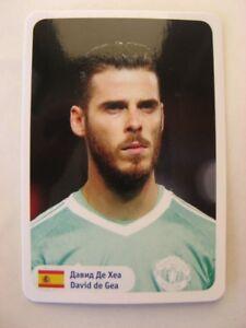 2018 World Cup Stars David de Gea team Spain Espana Manchester United MU