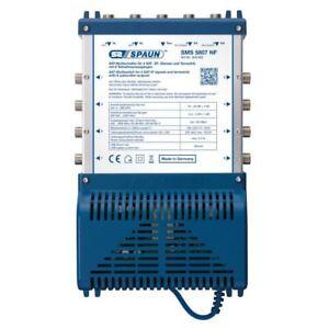 Spaun-SMS-5807-NF-Kompakt-Multischalter-8-Teilnehmer-5-in-8-1-Satellit-HDTV