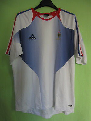 Maillot Equipe de France Entrainement Vintage Adidas Jersey Football 6 | eBay