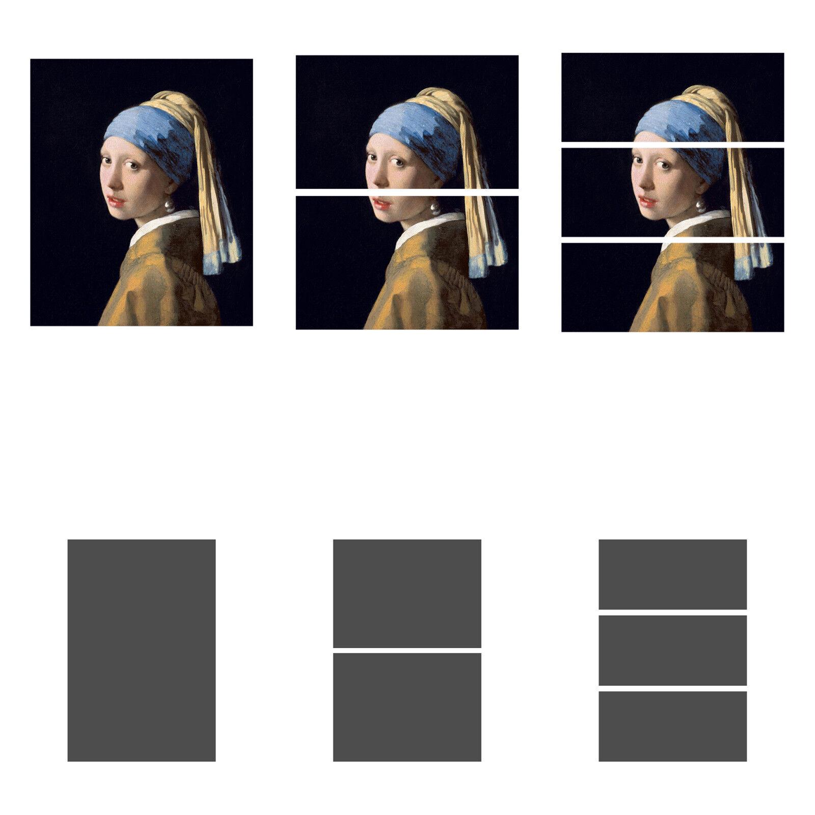 Vermeer dipinto la ragazza col turbante quadro stampa tela dipinto Vermeer telaio arRouge o casa f24f06