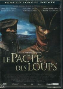EDITION 2 DVD LE PACTE DES LOUPS CHRISTOPHE GANS VERSION LONGUE