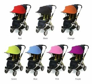 manito sun shade for car seats and baby strollers new ebay. Black Bedroom Furniture Sets. Home Design Ideas