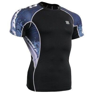 FIXGEAR C2S-B48 Compression Base Layer Workout Shirt Sportswear Gym MMA