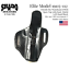 SHADO-Leather-Holster-USA-Elite-Model-19115-112-Left-Hand-Black-OWB-1911-Colt thumbnail 2