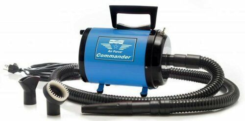 New Metro Vac AFTD1 Air Force Commander 2 Speed Pet Dryer  Blue