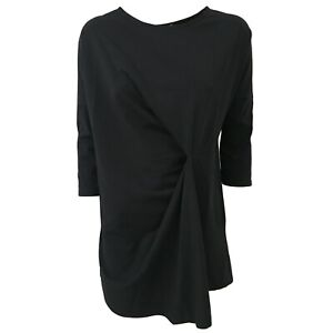 T Humility shirt Blu Ha8128 1949 Italy Lunga In Mod Donna Asimmetrica Made Sqw15